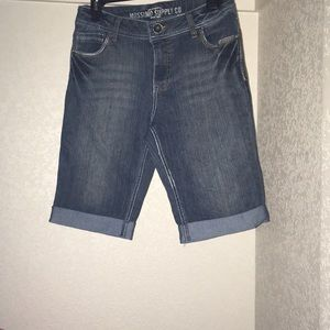 Bermuda shorts from Mossimo Supply Co